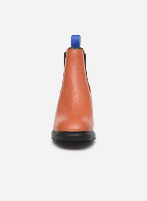Bottines et boots Camper Whitnee K400327 Marron vue portées chaussures