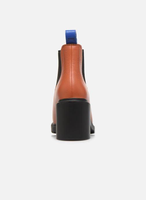 Bottines et boots Camper Whitnee K400327 Marron vue droite