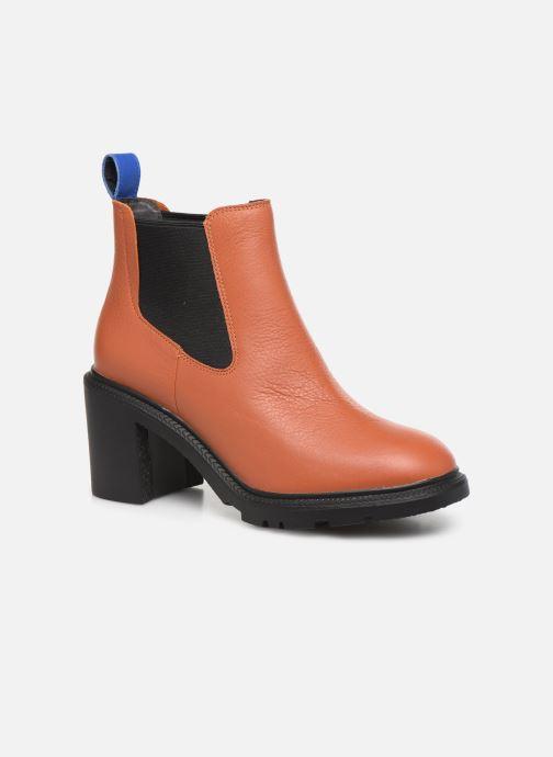 Bottines et boots Camper Whitnee K400327 Marron vue détail/paire