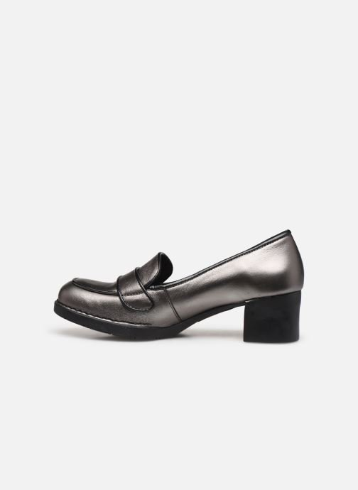 Loafers Art BRISTOL 0076 S Silver front view