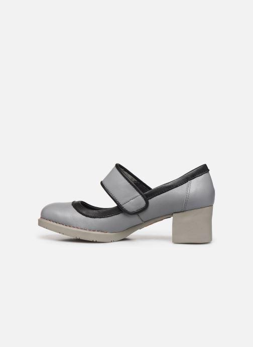 Zapatos de tacón Art Bristol 0089 Gris vista de frente