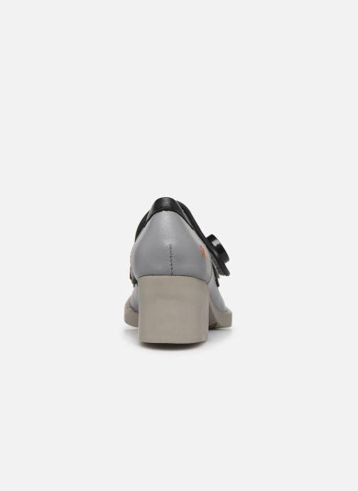 Zapatos de tacón Art Bristol 0089 Gris vista lateral derecha