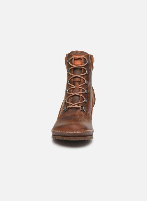 Bottines et boots Art Oslo 0542 Marron vue portées chaussures