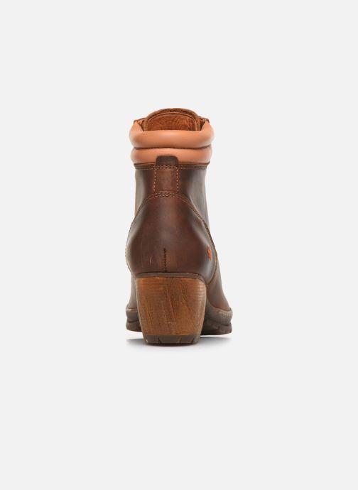 Boots en enkellaarsjes Art Oslo 0542 Bruin rechts