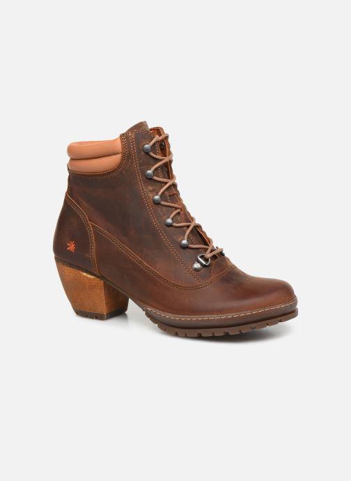 Boots en enkellaarsjes Art Oslo 0542 Bruin detail