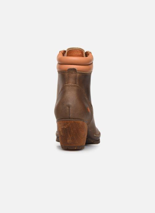 Bottines et boots Art Oslo 0542 Marron vue droite
