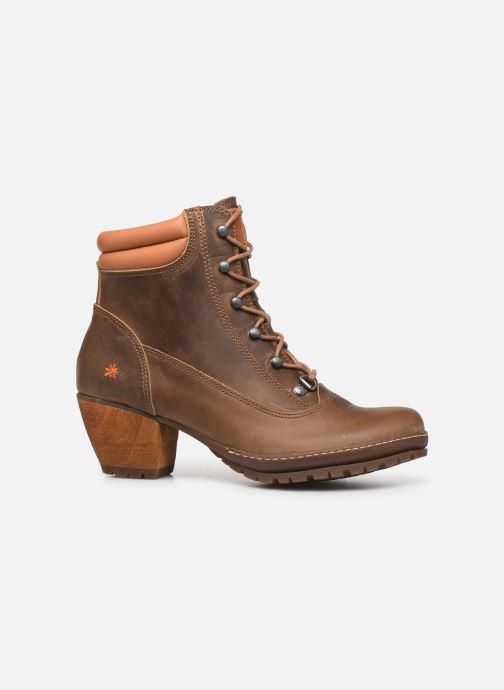 Boots en enkellaarsjes Art Oslo 0542 Bruin achterkant