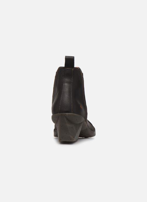 Bottines et boots Art Oteiza 649 Noir vue droite