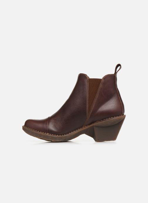 Bottines et boots Art Oteiza 649 Marron vue face