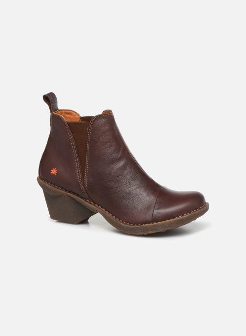 Bottines et boots Art Oteiza 649 Marron vue détail/paire