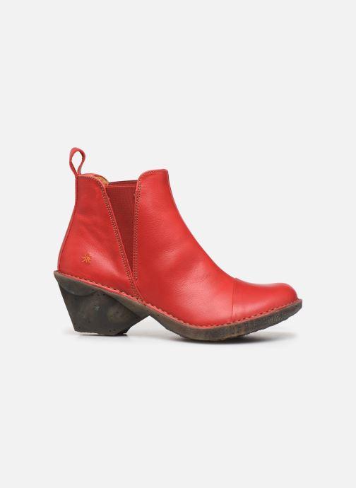 Boots en enkellaarsjes Art Oteiza 649 Rood achterkant