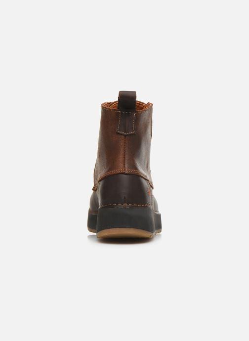 Bottines et boots Art Heathrow 1019 Marron vue droite