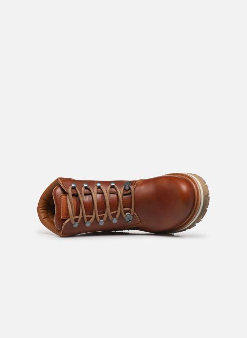 Boots en enkellaarsjes Art Soma 1182 Bruin links