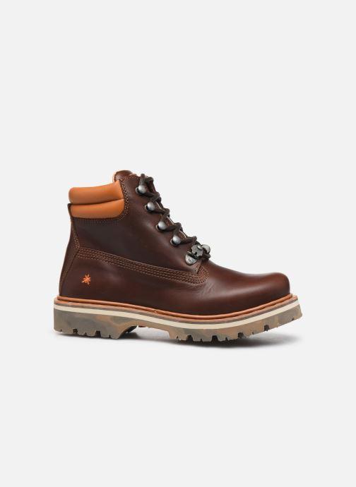 Boots en enkellaarsjes Art Soma 1182 Bruin achterkant