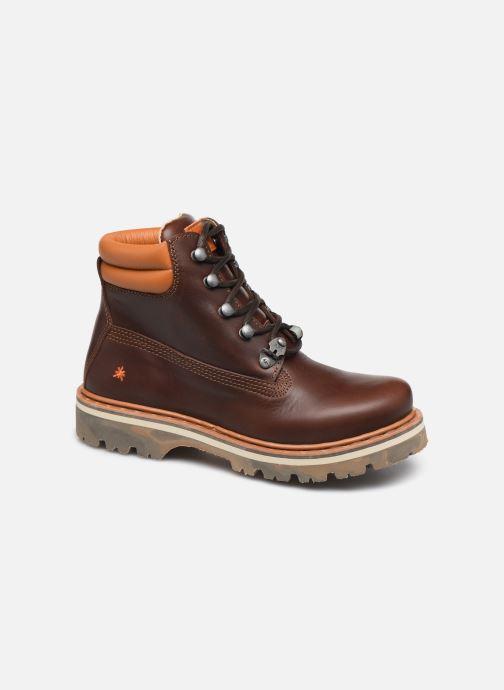 Boots en enkellaarsjes Art Soma 1182 Bruin detail