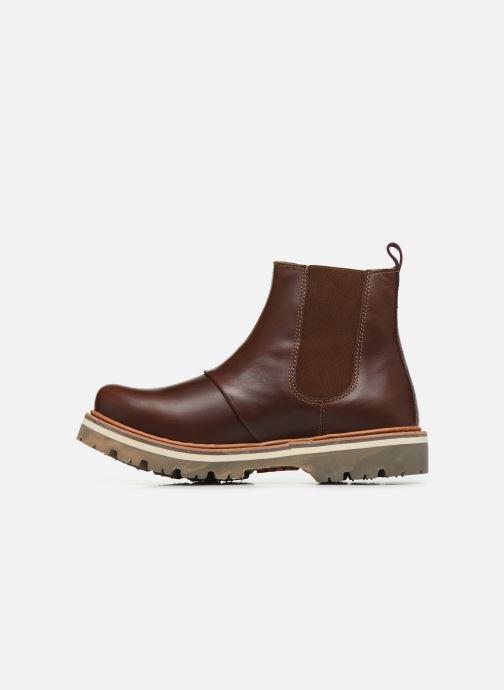Bottines et boots Art Soma 1185 W Marron vue face