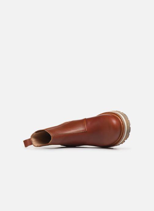 Boots en enkellaarsjes Art Soma 1185 W Bruin links