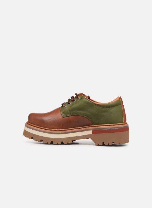 Chaussures à lacets Art North Beach 1190 W Marron vue face