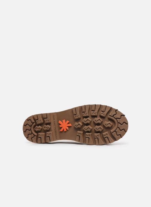 Chaussures à lacets Art North Beach 1190 W Marron vue haut