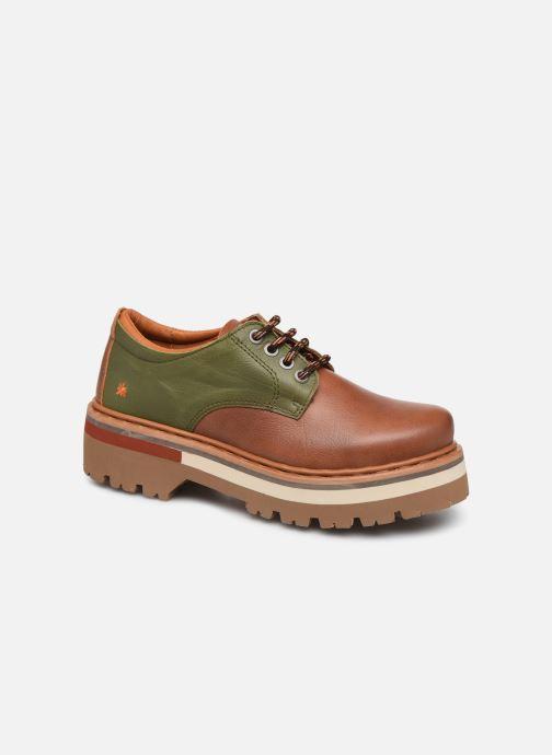 Chaussures à lacets Art North Beach 1190 W Marron vue détail/paire