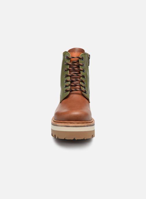 Bottines et boots Art North Beach 1191 W Vert vue portées chaussures