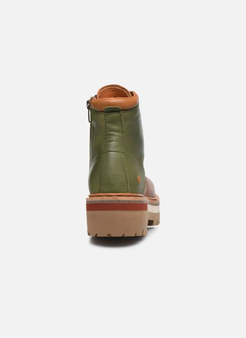 Bottines et boots Art North Beach 1191 W Vert vue droite