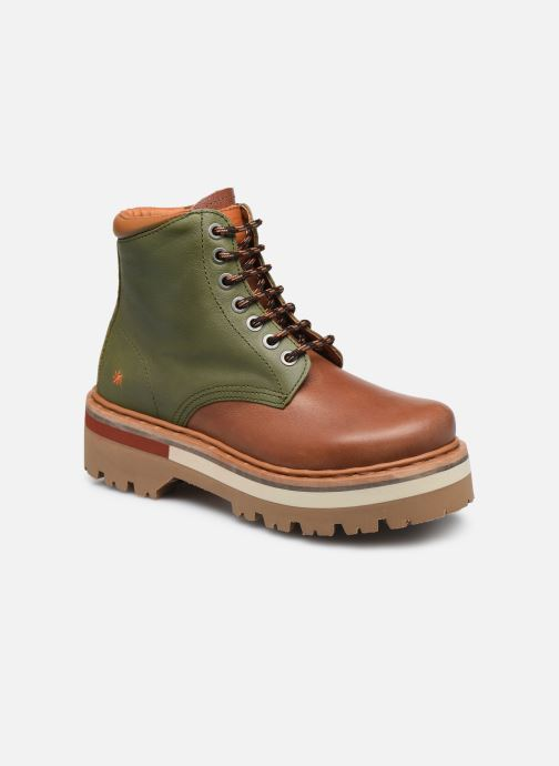 Bottines et boots Art North Beach 1191 W Vert vue détail/paire