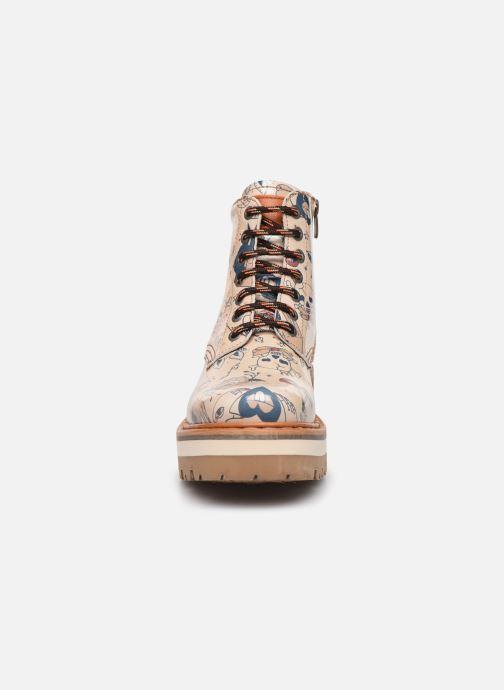 Bottines et boots Art North Beach 1191F Beige vue portées chaussures