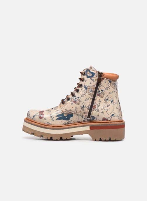 Bottines et boots Art North Beach 1191F Beige vue face