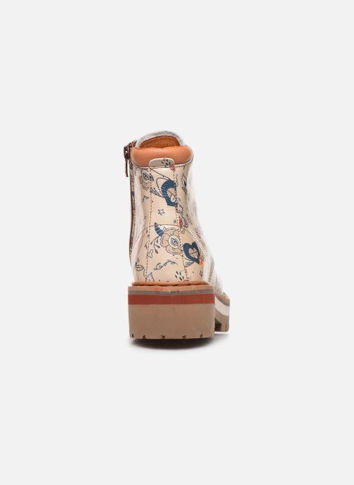 Bottines et boots Art North Beach 1191F Beige vue droite