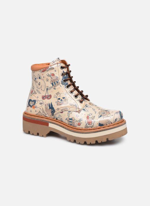 Bottines et boots Art North Beach 1191F Beige vue détail/paire