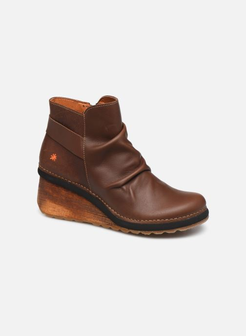 Boots en enkellaarsjes Art Tampere 1463 Bruin detail