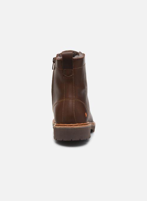Bottines et boots Art Basel 1480 Marron vue droite