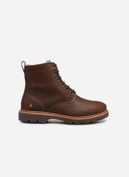 Boots en enkellaarsjes Art Basel 1480 Bruin achterkant