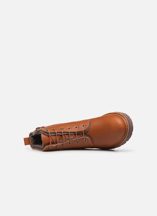 Bottines et boots Art Basel 1480 Marron vue gauche