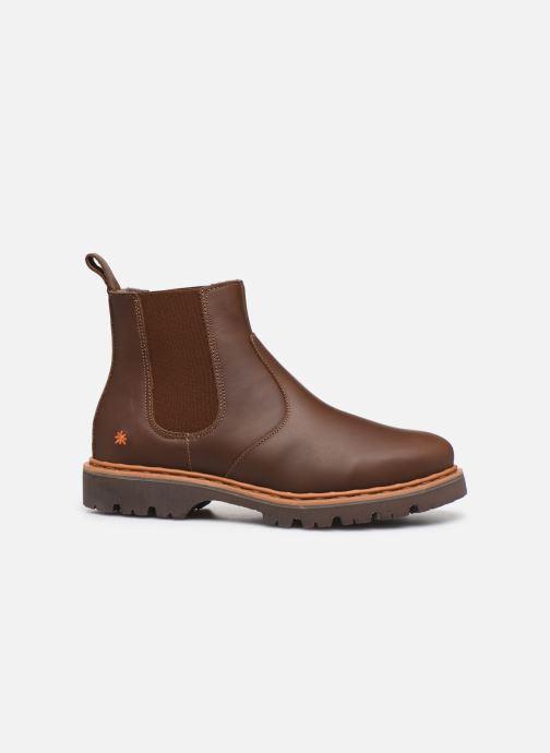 Boots en enkellaarsjes Art Basel 1481 F Bruin achterkant