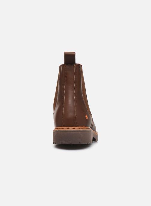 Bottines et boots Art Basel 1481 Marron vue droite