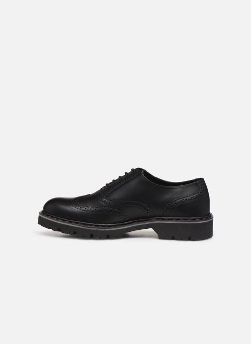 Zapatos con cordones Art Cambridge C005 Negro vista de frente
