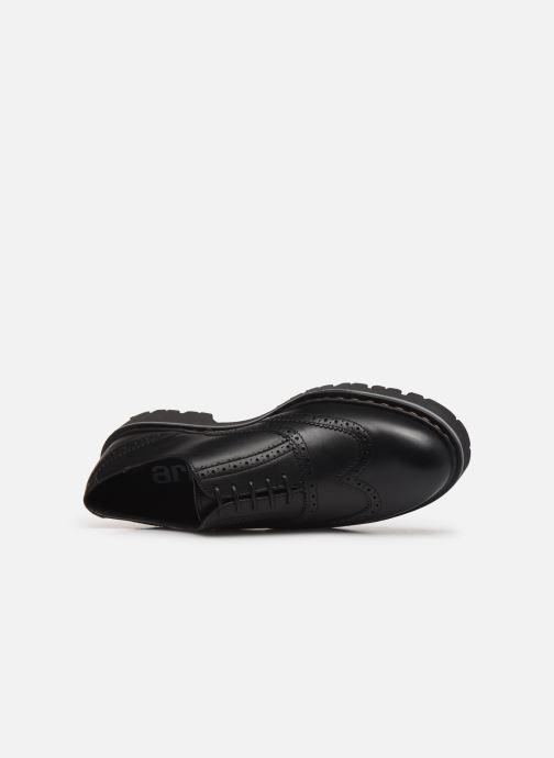 Zapatos con cordones Art Cambridge C005 Negro vista lateral izquierda