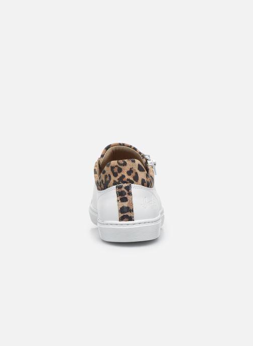 Sneaker Bullboxer Baskets-AHM024E5L_WNATB10 weiß ansicht von rechts