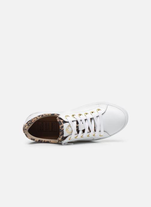 Sneaker Bullboxer Baskets-AHM024E5L_WNATB10 weiß ansicht von links