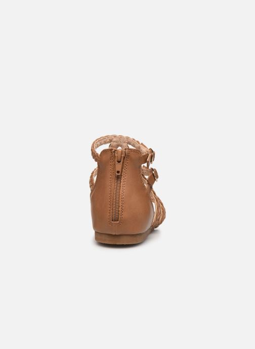 Sandales et nu-pieds Bullboxer Sandales-AED070F1S_NUTTB10 Marron vue droite