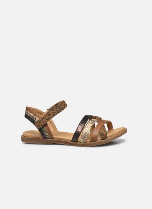 Sandales et nu-pieds Bullboxer Sandales-ALM003F1S_TANNKB10 Marron vue derrière