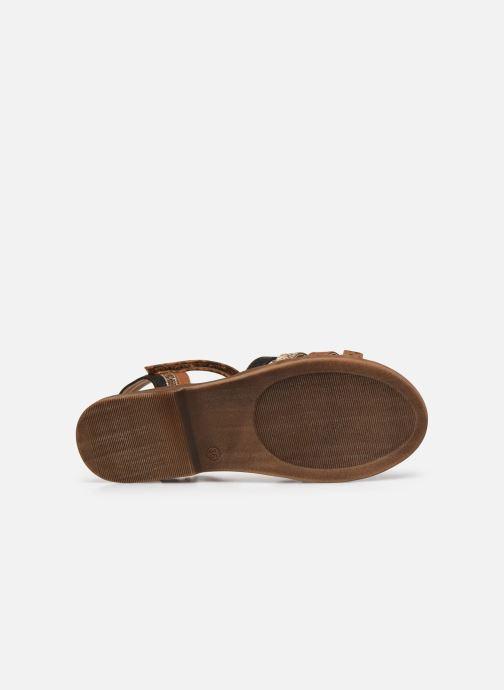 Sandales et nu-pieds Bullboxer Sandales-ALM003F1S_TANNKB10 Marron vue haut