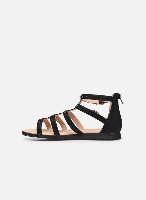 Sandales et nu-pieds Bullboxer Sandales-AGG021F1S_BLCKKB10 Noir vue face