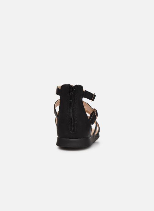 Sandales et nu-pieds Bullboxer Sandales-AGG021F1S_BLCKKB10 Noir vue droite