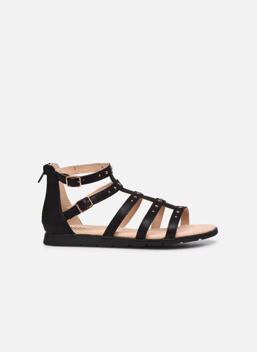 Sandales et nu-pieds Bullboxer Sandales-AGG021F1S_BLCKKB10 Noir vue derrière