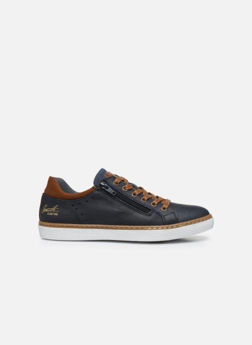 Sneaker Bullboxer Baskets-AHM024E5L_DKBLKB40 blau ansicht von hinten