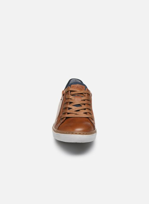 Sneaker Bullboxer Baskets-AHM024E5L_COGNKB40 braun schuhe getragen