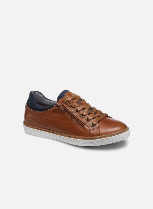 Sneakers Bullboxer Baskets-AHM024E5L_COGNKB40 Bruin detail